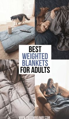 Jan 3, 2019 - Discover the best weighted blankets for adults in 2019! From budget to affordable, find the best sensory blankets and learn how to choose the best one! Weighted Blanket Diy, Weighted Blanket For Adults, Sensory Blanket, Old Wooden Shutters, Home Bedroom, Bedroom Decor, Old Dresser Drawers, Heavy Blanket, Womens Wellness