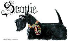 Scottish Terrier Gothic
