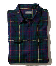 Men's Signature Castine Flannel Shirt, Slim Fit at L.L.Bean