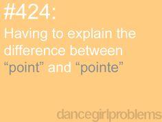 Dance Problems. lol