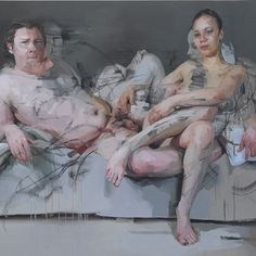 "London – Jenny Saville: ""Oxyrhynchus"" at Gagosian Gallery, through July 2014 Banksy, Figure Painting, Painting & Drawing, Potrait Painting, Glasgow, Jenny Saville Paintings, Gagosian Gallery, London Art, Life Drawing"