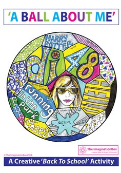 'All About Me' Pictures, Words & Doodles First Day Back to School Activity & Garland by - UK Teaching Resources - TES
