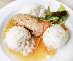 Denné menu Vranov   Prírodná bravčová kapsa plnená feferónkou a cibuľou, dusená ryža - reštaurácia Hotel Patriot*** #hotel #restaurant