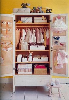 Next project! Need to covert our armoire into our baby boys closet. Love this except Cowboy/ Country theme! Baby Room Closet, Boys Closet, Room Baby, Baby Boy Nurseries, Baby Cribs, Nursery Boy, Nursery Ideas, Baby Armoire, Nursery Armoire