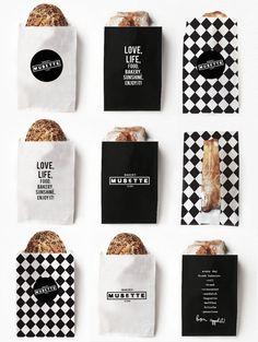 MUSETTE bakery on Branding Served