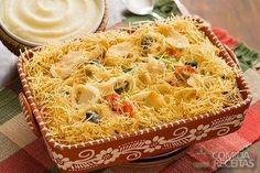 Receita de Bacalhau ao forno da Vó Maria em receitas de peixes, veja essa e outras receitas aqui!