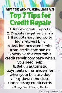 Credit Repair Tips to Secure Lower Loan Rates in 2019 Top 7 tips for Credit Repair. Fix your credit and guarantee yourself lower rates! Companies will trust you more and as a result your rates will be lower. Tips and tricks to fix your credit. Best Credit Repair Companies, Credit Repair Services, Fix Your Credit, Improve Your Credit Score, Build Credit, Credit Loan, Credit File, Tips And Tricks, Llamas