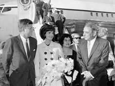 The Kennedys in Puerto Rico, December 15, 1961.