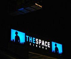 insegne luminose Terni, insegne luminose al neon Terni, insegne luminose The Space Cinema Terni