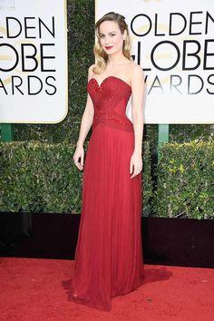 Brie Larson in Rodarte #redcarpet #GoldenGlobes #2017