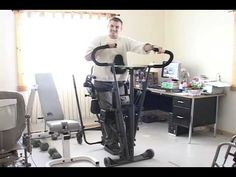 Active Standing Frame for Paraplegics in the EasyStand Glider