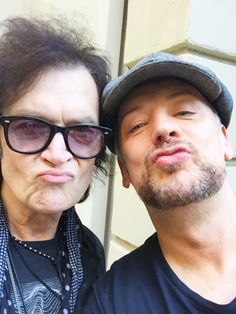 Yours truly and dearheart Boy George at PK's #SuperBowl gathering in Beverly Hills