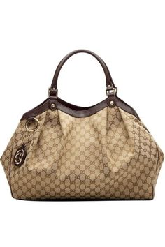 188238acf Gucci sukey tote, hate they don't carry this light brown trim anymore