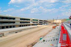 June 2012 progress on main grandstand F1 Austin, Circuit Of The Americas, Motogp, Le Mans, June, Construction, Travel, Building, Viajes