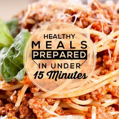 Prepare these recipes in 15 minutes or less, and the rest is cook time! #15minutemeals #easyrecipes #menuplanning