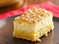 Crème Brûlée Cheesecake Bars - Prize-Winning Recipe in 2010! Savor the same great taste of restaurant Crème Brûlée in an easy-to-make bar cookie.  Made with packaged sugar cookie mix, French vanilla instant pudding, cream cheese, etc...