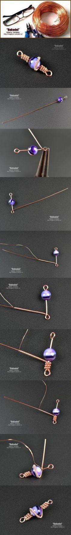 So, you are ready to become a jewelry maker? You are in luck because this collection, 240 Beginner DIY Jewelry Tutorials, is perfect for you. Bijoux Wire Wrap, Bijoux Diy, Wire Wrapped Jewelry, Metal Jewelry, Beaded Jewelry, Handmade Jewelry, Clean Jewelry, Wire Tutorials, Jewelry Making Tutorials