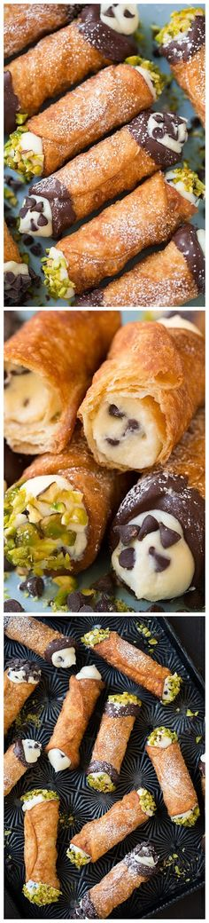 Cannoli (Shell and Filling Recipes) ~ Chocolatable
