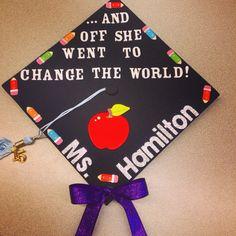 Graduation cap @CorinneLVaughn