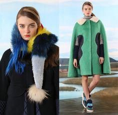Tsumori Chisato 2016 Pre Fall Autumn Womens Lookbook Presentation - Icelandic…