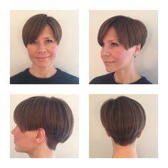 Short hair inspo , by me Short Grey Hair, Short Hair Cuts, Short Hair Styles, Hair Inspo, Bobs, Wedge, Stylists, Hair Beauty, Hairstyles