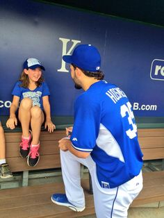 Throughout the season, the Royals grant the wishes of Dream Factory children. These youngsters, who face life-altering challenges, meet Royals players and watch batting practice from the dugout.
