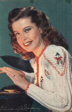 Eric Carpenter, Gloria DeHaven, 1940s | Flickr - Photo Sharing!