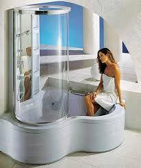 Resultado de imagen para baños modernos pequeños con ducha y tina