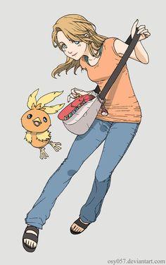 Pokemon Trainer Frosty by on DeviantArt Pokemon Rpg, Pokemon Fan Art, Cool Pokemon, Pokemon Stuff, Character Portraits, Character Art, Female Pokemon Trainers, Pokemon Stories, Pokemon Pictures
