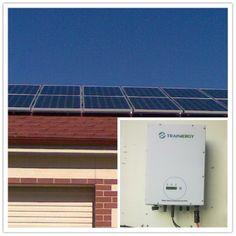 Location:Australia Power Output: 3.0 kW 1 Trannergy PVI3000TL; Monitoring System: Pvoutput;