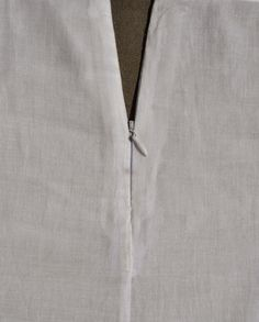 Handmade by Carolyn: Setting an invisible zip in a French seam