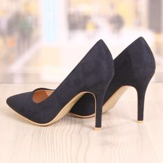 Poze Pantofi Stiletto Brooklyn Albastru Inchis Cod: 779