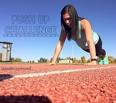 Push Up Challenge! Before getting settled into your weekend lets get a little workout in!  How many can you do? Take a video or picture and hashtag #jadesdailychallenge  so I can see your hard work!