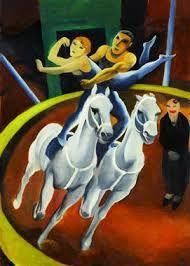 Image result for zirkuspferd malerei