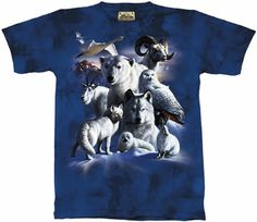 Arctic Animals T-Shirt at theBIGzoo.com