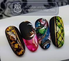 Fancy Nails, Red Nails, Nailart, Almond Nails, Perfect Nails, Manicure And Pedicure, Shops, Nail Art Designs, Stamping