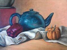 Tea Kettle Still Life via Etsy