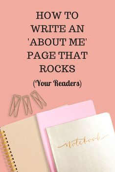 Write an about page that rocks your readers. Write your about page with your audience in mind. Read on to find out more from Laura How To Start A Blog, How To Find Out, Readers Notebook, Wordpress, Inspiration Entrepreneur, About Me Page, Site Internet, Motivation, Blogging For Beginners