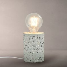 This lamp is an easy way to bring a touch of Terrazzo into your home.....                                 Terrazzo table lamp - Blue/Multi   £25    www.johnlewis.com
