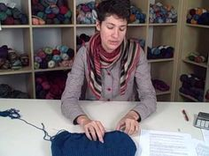 Nina's Design Your Own Sweater Class Archives: How to Knit a Sweater – Lesson 3 (Part 2 of 2) Shaping the Torso | Knit Picks Tutorials