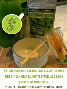 #Organic Matcha Green Tea