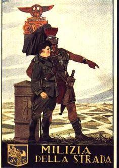 La Milizia nazionale della strada era una specialità della Milizia Volontaria per la Sicurezza Nazionale destinato alla sorveglianza della circolazione stradale, attivo dal 1928 al 1945, in seguito trasformato nella Polizia stradale.
