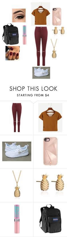 """""""Pretty"""" by malaysiasmith21 on Polyvore featuring WearAll, WithChic, Rebecca Minkoff, Rachel Jackson, JanSport and cute"""