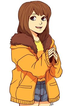 Karen McCormick with the orange jacket Kenny Wall | VK