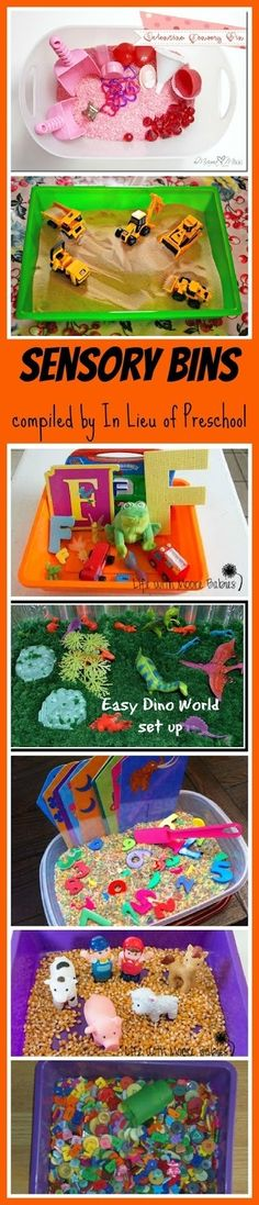 Sensory bins : Sensory table activities can help children develop fine motor skills, increase math and science skills and build brain connections through sensory play. Sensory Activities, Sensory Play, Preschool Activities, Motor Activities, Sensory Boxes, Sensory Table, Preschool Crafts, Crafts For Kids, Toddler Fun