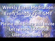 Elke Zondag 7pm GMT (NL: 20.00 uur) Alsjeblieft, doe mee, deel dit en inviteer Laten we de 144.000 halen Bevrijding NU ! Het is nog steeds van het grootste b...
