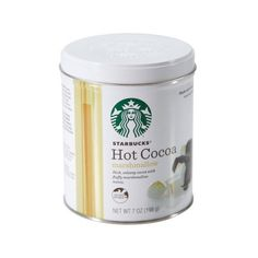 Starbucks Holiday Marshmallow Hot Cocoa Mix, 7 oz Walmart.com ($5) ❤ liked on Polyvore featuring food and food and drink