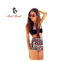$9.64 (Buy here: https://alitems.com/g/1e8d114494ebda23ff8b16525dc3e8/?i=5&ulp=https%3A%2F%2Fwww.aliexpress.com%2Fitem%2F2016-Plus-Size-Women-Bikini-Sexy-Print-Push-Up-Bikinis-Black-Swimwear-Maillot-De-Bain-Biquini%2F32648497890.html ) 2017 Plus Size Women Bikini Sexy Print Push Up Bikinis Black Swimwear Maillot De Bain Biquini Beach Swimsuit Bathing XXL BJ069 for just $9.64
