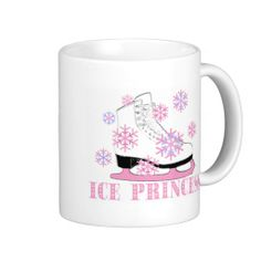 Ice Princess Skate Coffee Mug