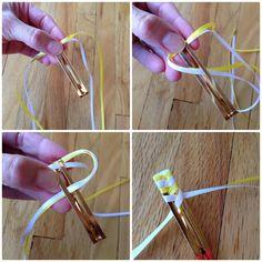 Bringing Sassy Back – Friendship Pins & Ribbon Barrettes Ribbon Barrettes, Ribbon Hair Clips, Diy Hair Bows, Diy Bow, Diy Ribbon, Hair Barrettes, Ribbon Bows, Ribbon Sculpture, Hair Decorations